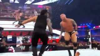 Randy Orton | RKO VS Roman Reigns WWE Wresling