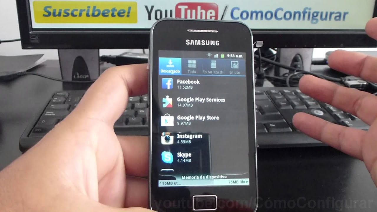 Samsung Galaxy Ace S5830 Precio Samsung Galaxy Ace S5830