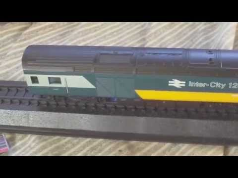 REVIEW,GREAT BRITISH LOCOMOTIVES COLLECTION,ISSUE 17, BR INTERCITY 125 , 00 1/76 MODEL