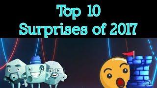 Top 10 Surprises of 2017