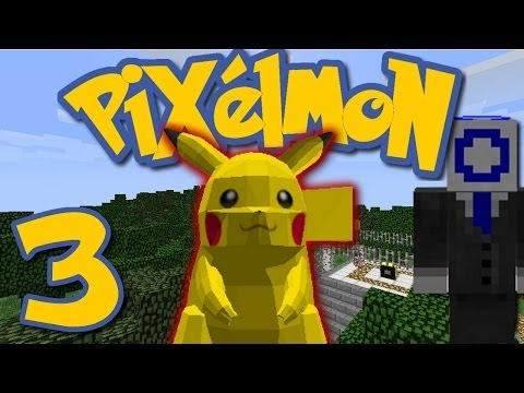 Pixelmon Ep. 3 - I FOUND A PIKACHU! (Minecraft Pokemon Mod)