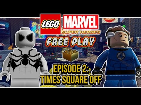 LEGO Marvel Super Heroes (Co-op Free Play): Episode 2 (Times Square Off)