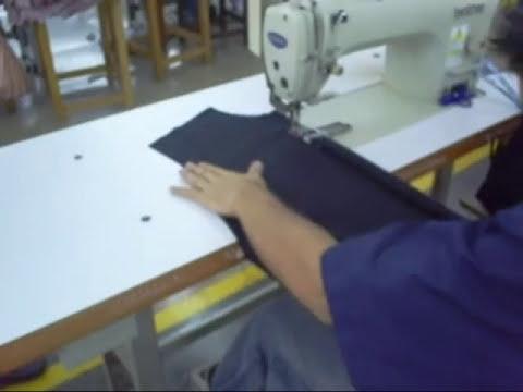 Dobladillar perilla camisa 180 unidades por hora. http://ingenieriaconfeccion.com/