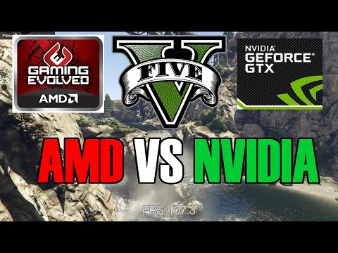 GTA 5 AMD vs Nvidia Performance Review
