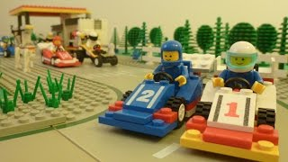 Lego Car Chase Stop Motion