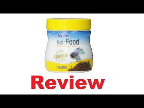 Aqueon 06051 Betta Food Review