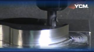 YCM NMV76A Cutting Demonstration (Japanese)