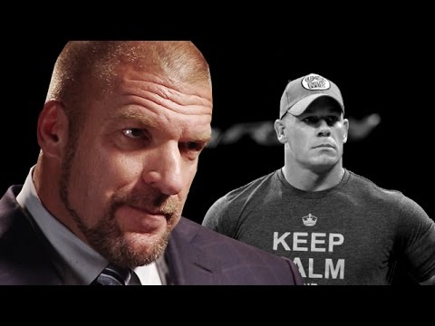 Triple H ponders a future without John Cena