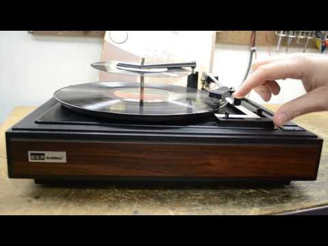 BSR McDonald 33 45 78 RPM Turntable Record Player Changer