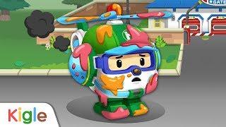 Robocar Poli Game | Helly | #04 | Maintenance Play | Kid Game | Kids video | Robocar Poli | KIGEL TV