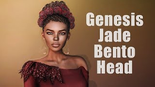 Genesis Lab Jade Bento Head in Second Life