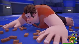 Kingdom Hearts 3 -Wreck-it Ralph -Toy Story World & Titan Boss Fight *NEW ENGLISH GAMEPLAY*