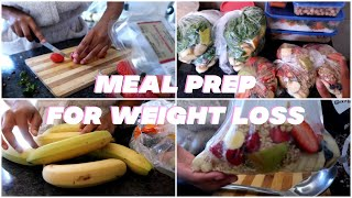 MEAL PREP FOR WEIGHT LOSS | QUICK & EASY | NO RED MEAT | BEGINNERS 2020 (ONE WEEK IN 2 HOURS)