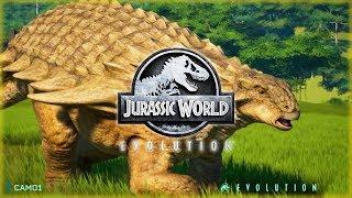 NODOSAURUS Species Profile! BRAND NEW Dinosaur for Jurassic World Evolution!