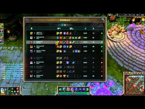 League of Legends - Armored Olaf - Full Game Commentary