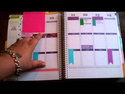 Erin Condren 2014-2015 Life Planner Review