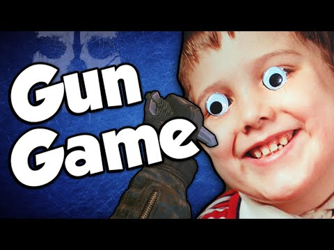 CREEPIEST KID! (Gun Game Reactions - Call of Duty: Ghosts)