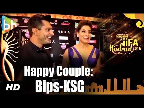 'Happy Couple' Bipasha Basu-Karan Singh Grover's EXCLUSIVE At IIFA Awards, Madrid