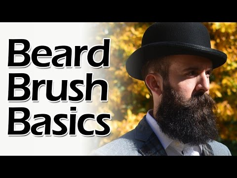 How to Brush a Beard
