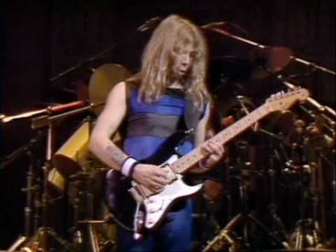 Dave Murray Solo God (and the power of a Stratocaster)
