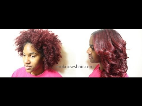 How to Straighten and Trim Natural Hair