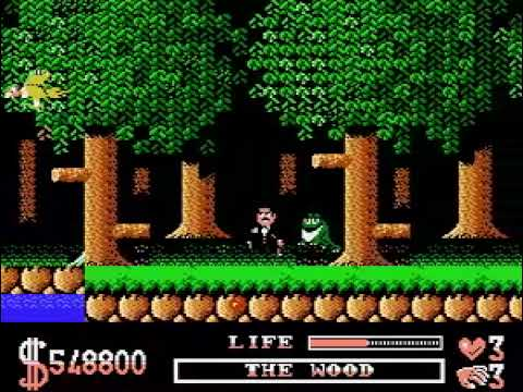 TAS The Addams Family NES in 13:00 by ventuz