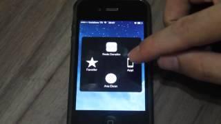 iPhone Orta Tuş Uygulaması Videosu iphone Tuş Kullanmama
