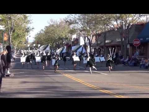 Vanden High School Marching Band and Color Guard - Foothill Band Review - 2013