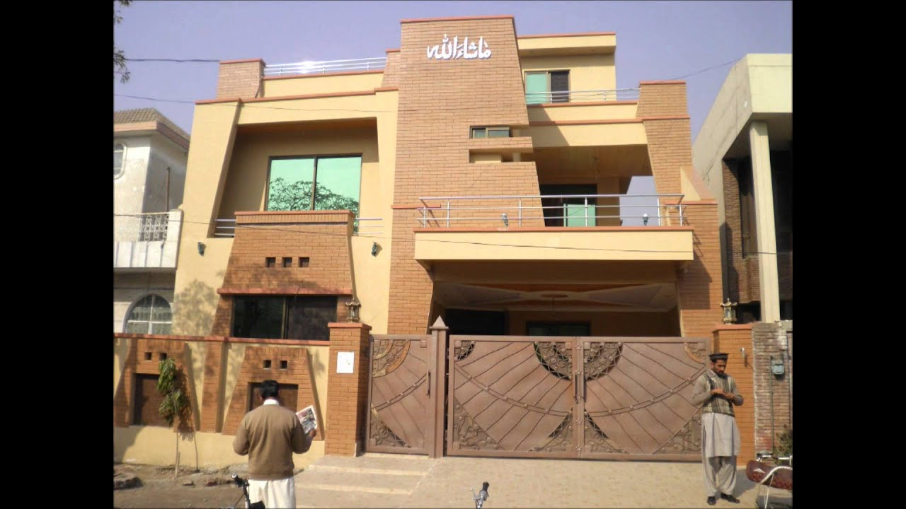 Proficient real estate houses 10 marla brand new house for New homes design pakistan
