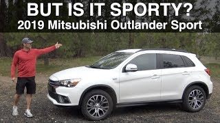 Is It Sporty? 2019 Mitsubishi Outlander Sport Review on Everyman Driver