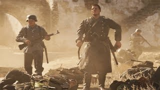 Call of Duty WW2 United Front - War - Operation Supercharge (Multiplayer Tunisia Gameplay)