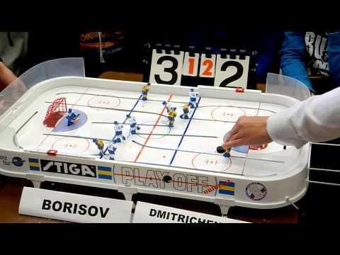 Table Hockey. Moscow Open 13.  Borisov-Dmitrichenko. Game 4