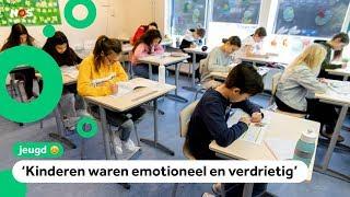 Kinderen geschrokken na fouten in uitslag eindtoets