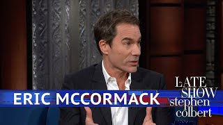 Eric McCormack Has A Fitting Walk Of Fame Neighbor