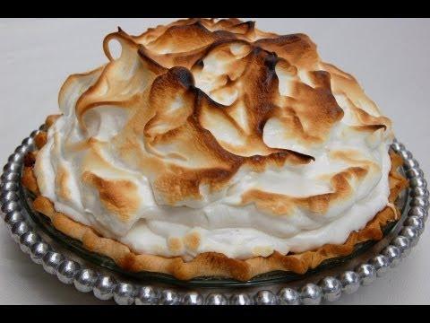 {Dessert Recipe} Lemon Meringue Pie by CookingForBimbos.com