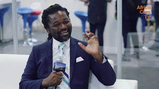 AfricaCom TV Interview with Lanre Kolade - CEO, CSquared