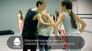 Casiokids - Hun er Min Venstre Hånd - Dance techniques by Mariam Turkmenbaieva - Open Art Studio