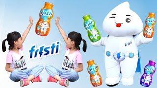 Trái Đất Xanh Sạch Đẹp – Bé Bảo Vệ Môi Trường Cùng Anh Hùng Sữa Và Fristi ❤ AnAn ToysReview TV ❤