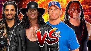 The Undertaker & Roman Reigns vs. John Cena & Kane