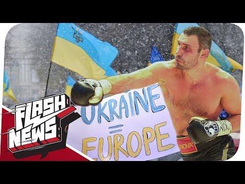 Klitschko kämpft für EU, Scientology & 3D-Waffen Verbot! - FLASH NEWS