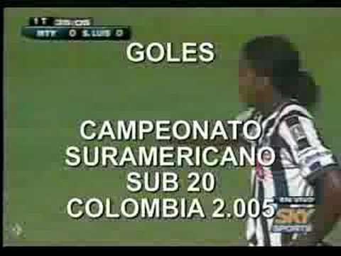 HUGO RODALLEGA-GOLES A JULIO 22 DE 2.008 Video
