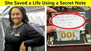 Secret Messages Sent By Genius People In Dangerous Situations