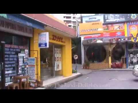 Sukhumvit Road, around Soi 12, American V8 Diner, Times Square, Bangkok, Thailand