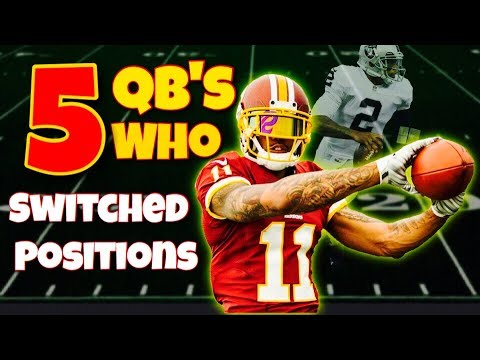 Here is five quarterbacks who were forced to switch positions in the NFL, and did it very successfully. It's truly amazing what these guys have accomplished. Shoutout to SeatGeek for sponsoring...