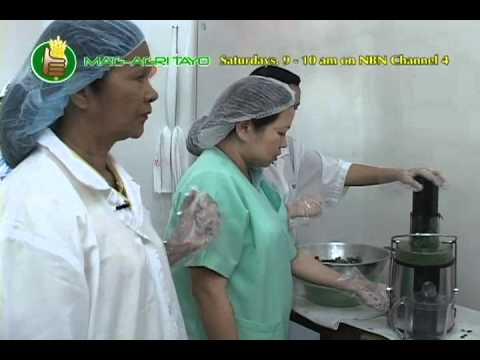 Demo - Malunggay leaf + Calamansi extract juice concentrate