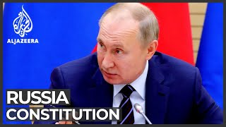 Russian constitution: Parliament backs Putin's reforms