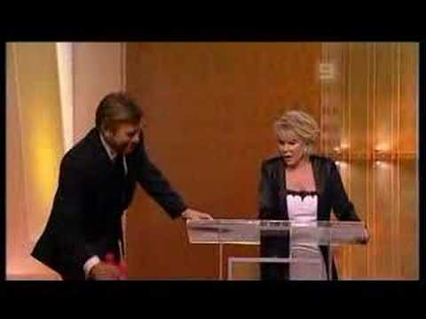 Joan Rivers is listed (or ranked) 4 on the list The Top 11 Best Drunken Awards Show Moments