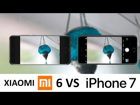 Xiaomi Mi6 Vs iPhone 7 Camera Test