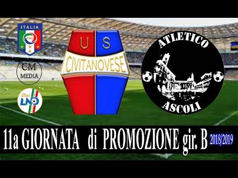 Civitanovese - Atletico Ascoli  i gol e le interviste del match