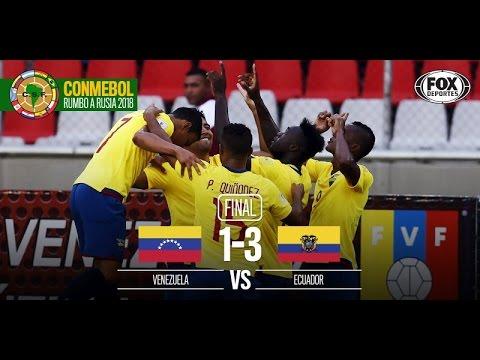 Venezuela 1 - 3 Ecuador | RELATO EMOCIONANTE De Alfonso Laso  | Eliminatorias a Rusia 2018